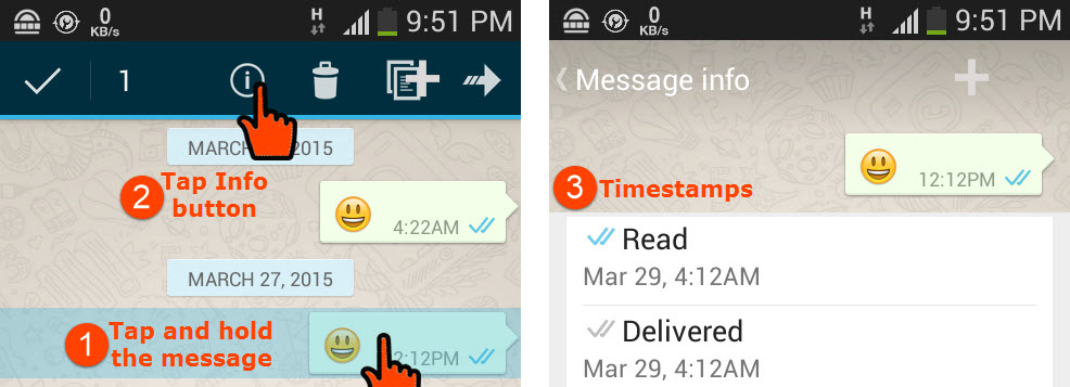 how to delete delivered whatsapp message