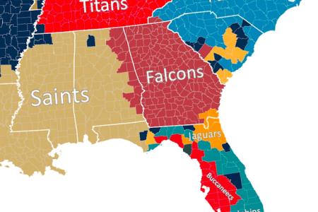 pin nfl team of the united states map on pinterest
