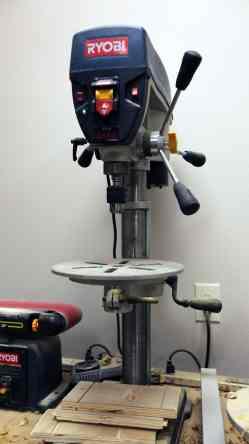 Supreme Shop Tour Ryobi Drill Press Geek Pub Ryobi Drill Press Dp102l Parts Ryobi Drill Press Chuck Fell Out