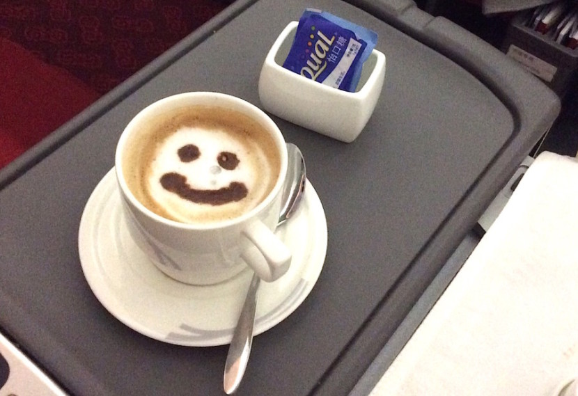 I needed a (smiley-face) cappuccino to wake back up again.