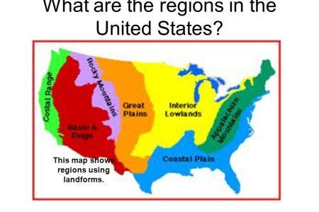 united states landform regions thinglink