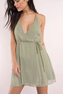 Small Of Olive Green Dress