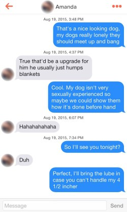 Small Of Dog Pick Up Lines