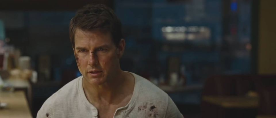 Jack Reacher Never Go Back - Trailer Screencap
