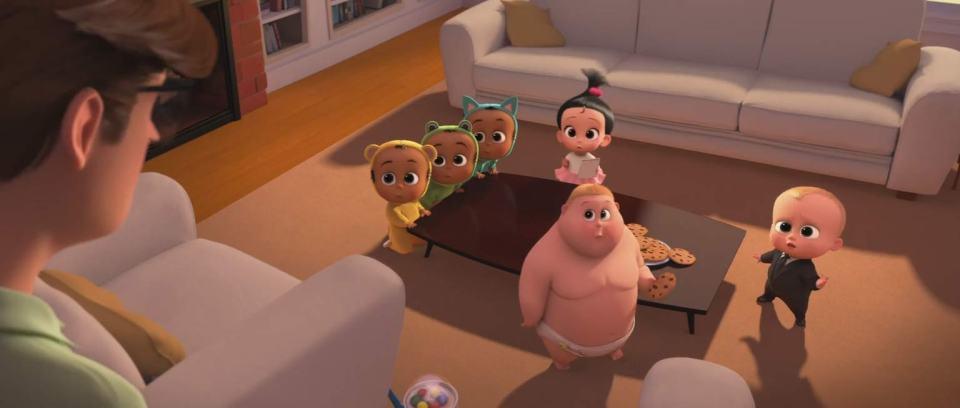 The Boss Baby - Feature Trailer Screen Shot 2