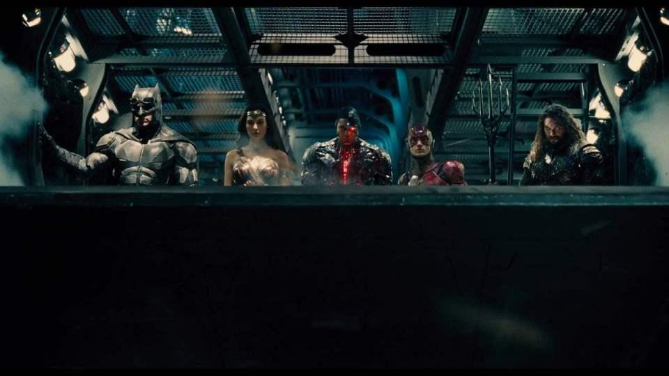 Justice League TV Spot - Cyborg Teaser (2017) Screen Capture