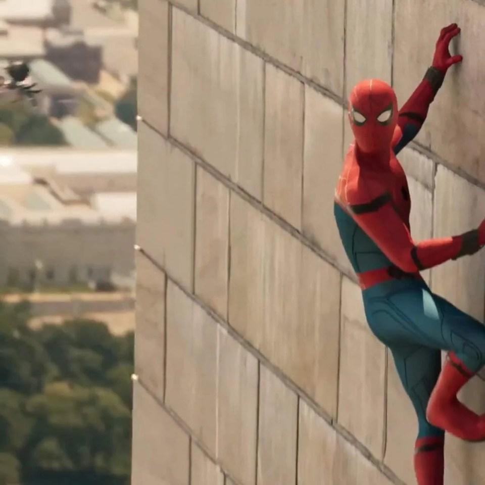 Spider-Man: Homecoming TV Spot - Teaser Tomorrow II (2017) Screen Capture