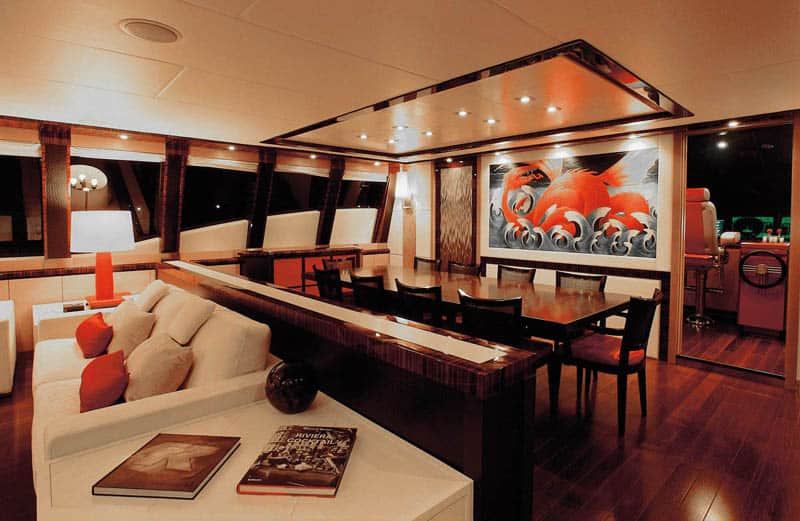 Best Modern Yacht Interior Designs Palmer Johnson s Dragon Yacht Interior Design