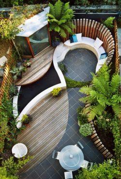 Small Of Backyard Layout Ideas