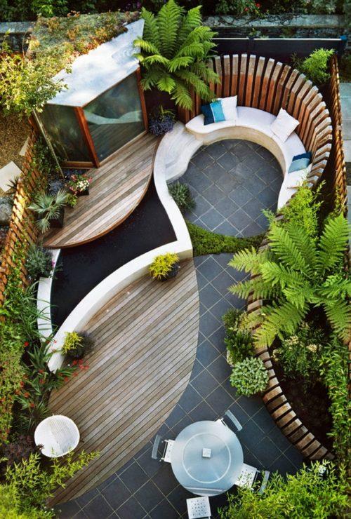 Medium Of Backyard Layout Ideas