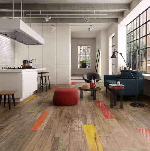 wood look tiles hardwood floor in kitchen View in gallery weathered wood look porcelain tile kitchen floor abk