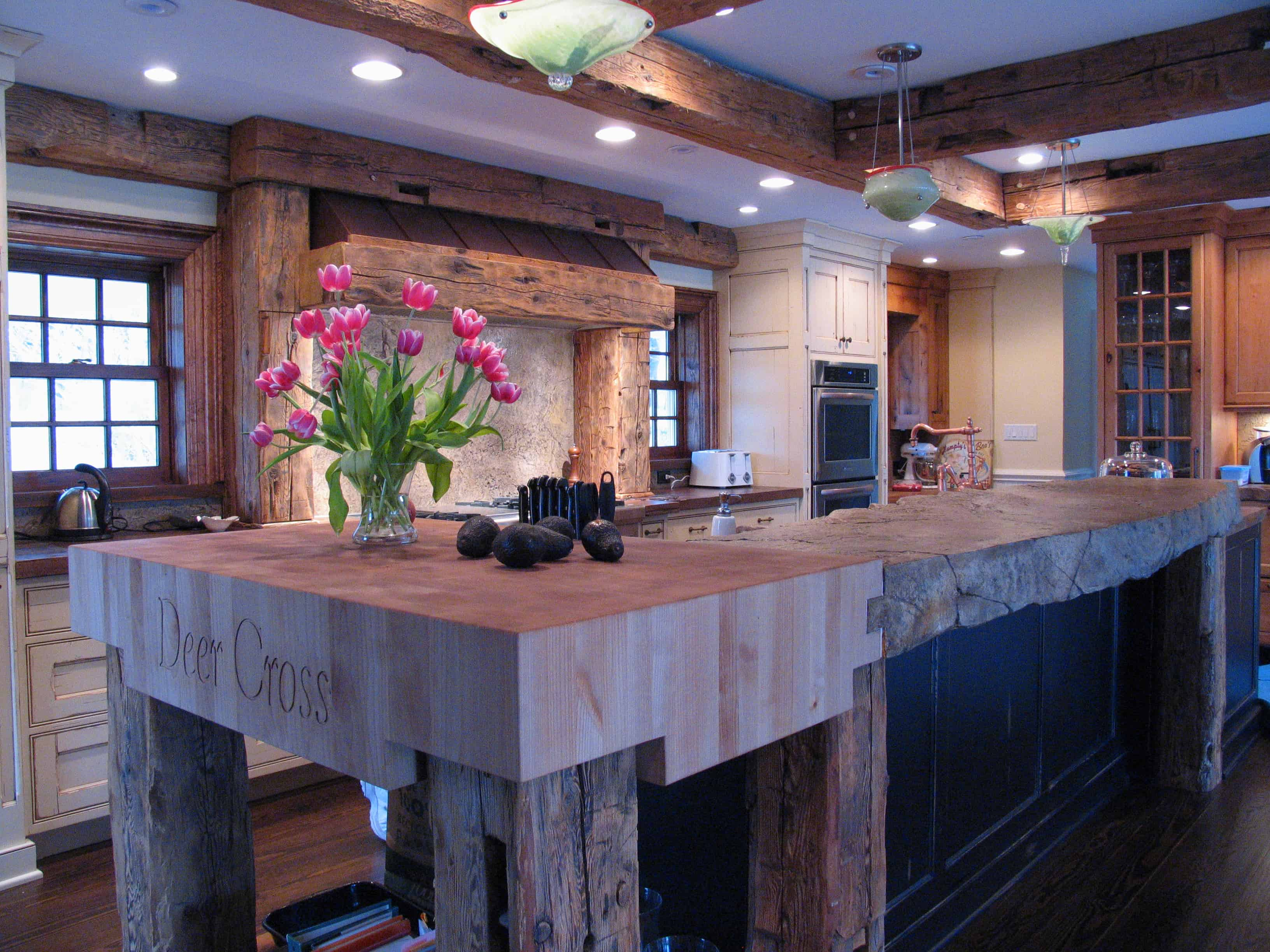 modern kitchen countertops from unusual materials wooden kitchen countertops View in gallery modern countertops unusual material kitchen wood raw