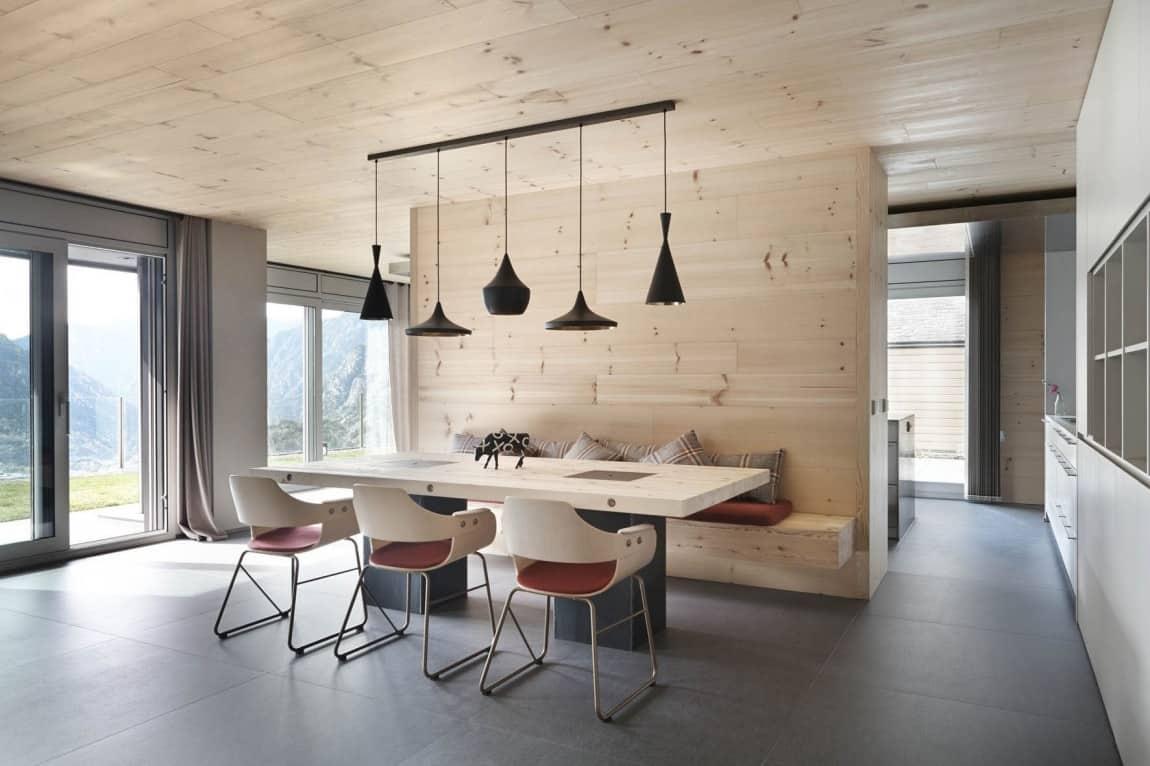 breakfast nook design ideas kitchen nook lighting View in gallery wood dining nook design ar room divider