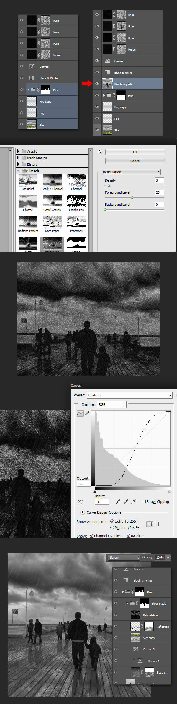 Awesome Hit M To Bring Up Curves Panel Increase A Place Layer Inside Group Andname It Add Dramatic Rain To A Photo Photoshop Unlock Layer Photoshop Keyboard Shortcut Unlock Layer Photoshop Shortcut dpreview Unlock Layer Photoshop