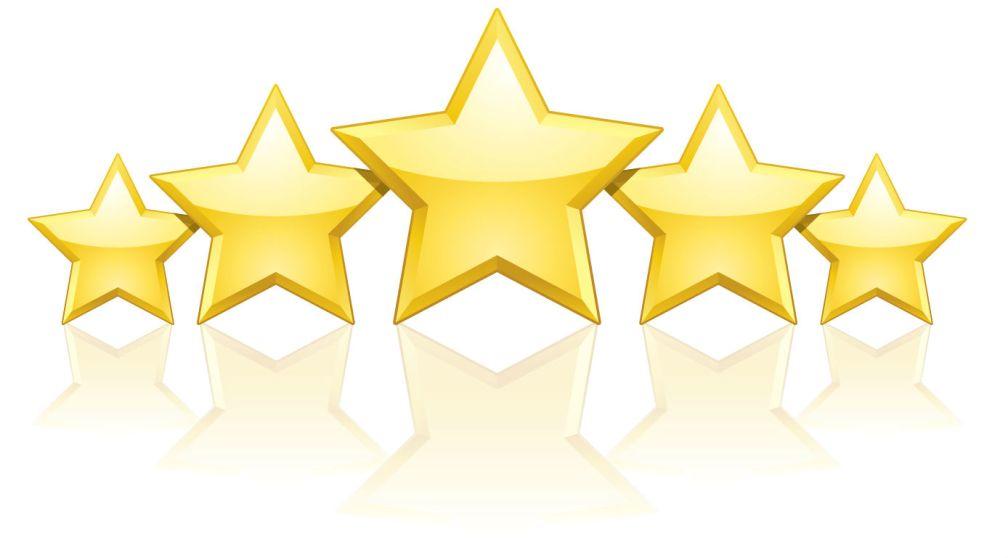 5 Star Website Review