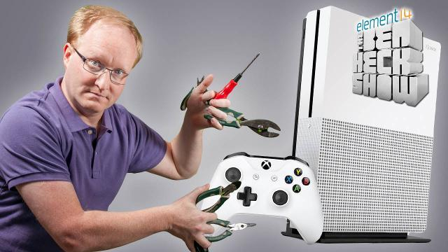 The Ben Heck Show - Episode 252 - Ben Heck's Xbox Slim Teardown