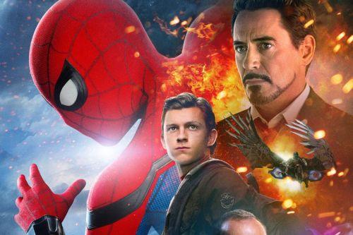 Medium Of Spiderman Homecoming Poster