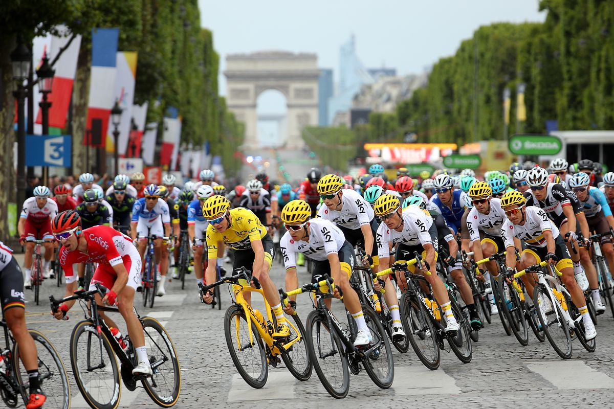 Tour de France 2018  Schedule  TV live stream options  map  and     Photo by Chris Graythen Getty Images Tour de France 2018