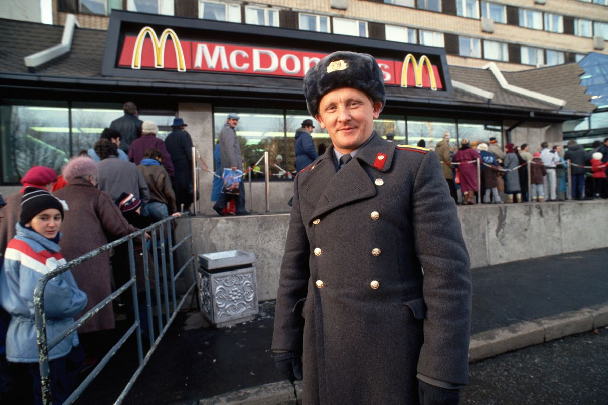 Beautiful Ringer New Mcdonalds Uniform Meme New Mcdonalds Uniform Uk A Policeman Outside A New Meaning Moscow nice food New Mcdonalds Uniform