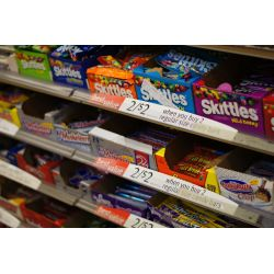 Small Crop Of Junk Food Aisle
