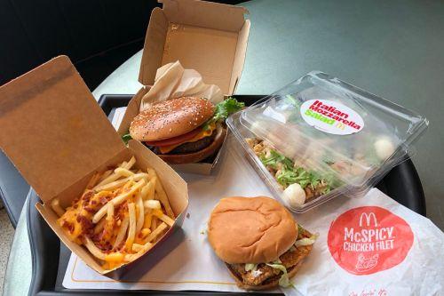 Medium Of New Mcdonalds Sandwich