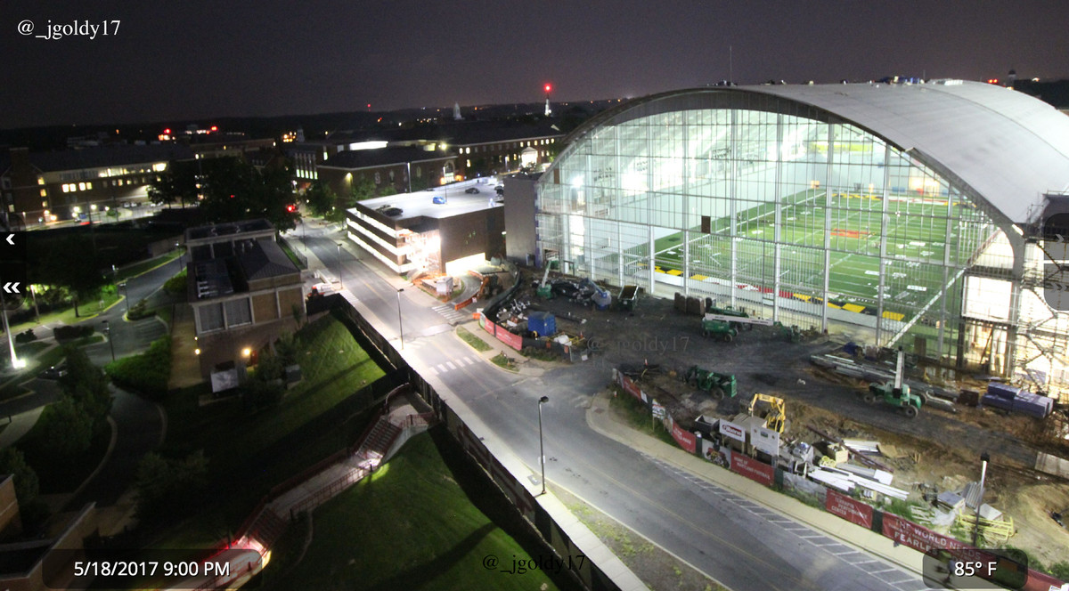 Luxurious Exactly One Month Inside Was Mostly Cole Field House Looks As Maryland New Cole Field House Completion Date Cole Field House Camera curbed Cole Field House