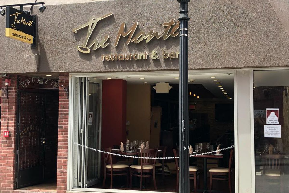 Tre Monte Opens in the North End   Eater Boston Tre Monte North End Tre Monte Facebook