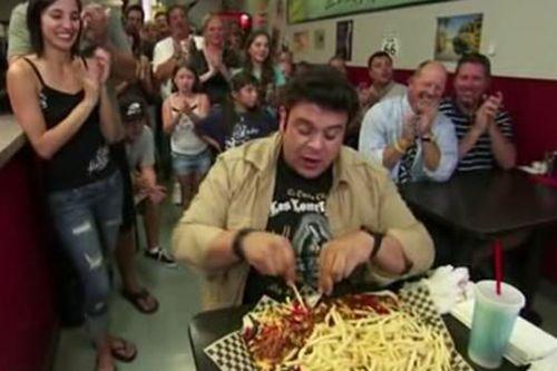 Medium Of Man Vs Food Adam Richman