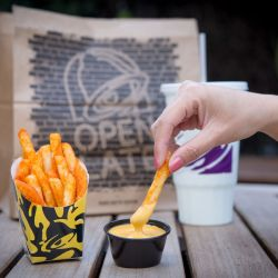 Comely Taco Bell Is Finally Adding Fries To Its Menu Eater Nacho Fries Box Gone Nacho Fries Box Ingredients