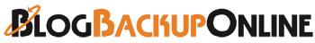 blogbackuponline logo Haz un respaldo de tu blog periodicamente sin complicaciones