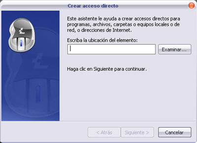 acceso directo1 Crear un acceso directo en tu escritorio para apagar, reiniciar y cerrar sesión en Win XP