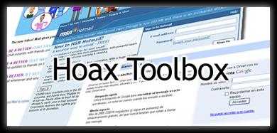 hoax toolbox Hackear Contraseñas de Hotmail, GMail y Yahoo De La Manera Mas Fácil