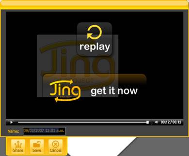 jing project screenshot3 Crear VideoTutoriales o Capturas De Pantalla Con Jing Project