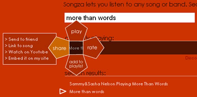escuchar musica en linea Música en linea con Songza