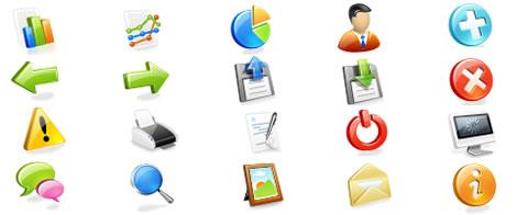 web application icons Iconos Para Aplicaciones Web Gratis por WebAppers