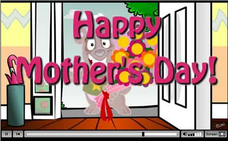 video postales dia de la madre Video tarjetas para el dia de la madre