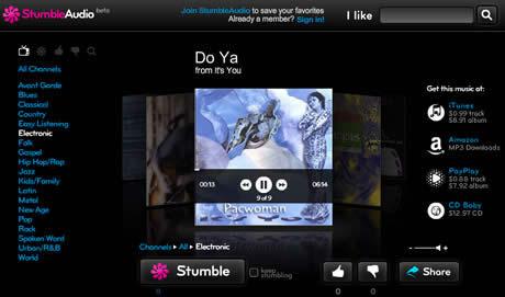 musica nueva Musica nueva en StumbleAudio