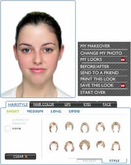 cambio de look Cambio de look, crea tu look virtual