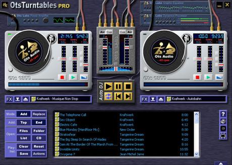 mezclar musica Mezclar musica con OtsTurntables