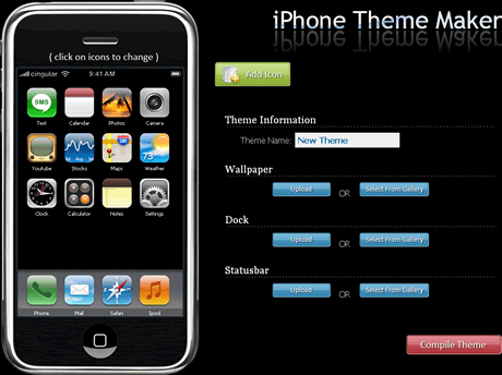 temas iphone Temas iphone, crealos en iPhone Theme Maker