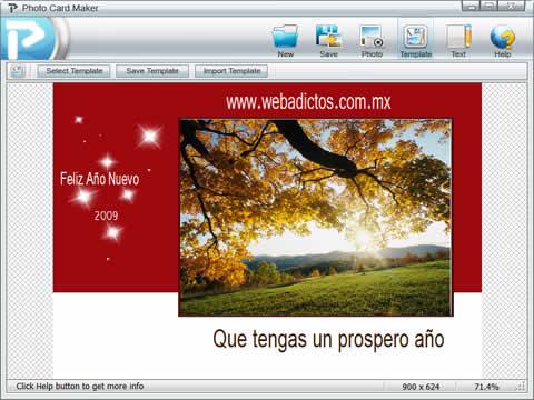 crear postales Tarjetas de felicitacion, crealas con PhotoCard Maker