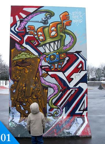 graffitis 1 Graffiti, 50 graffitis creativos
