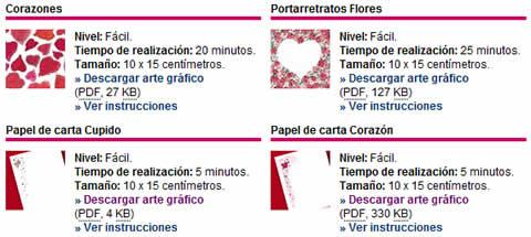 postales san valentin para imprimir Postales de amor para imprimir y otros recursos en HP