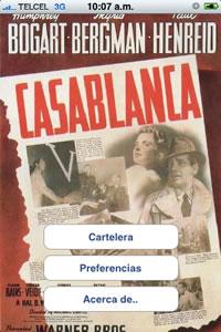 cartelera de cine mexico Cartelera de cine en el iPhone