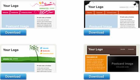 templates boletines Plantillas para boletines gratis en Sendn