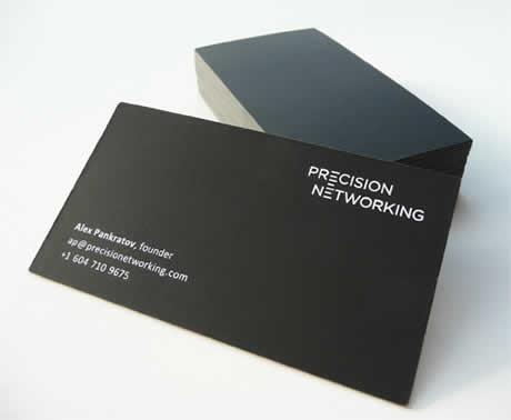 disenos tarjetas presentacion precision Diseños de tarjetas de presentacion en Card Observer