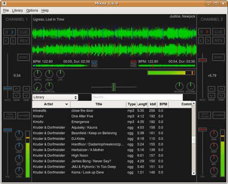 programas djs Programas para dj gratis, Mixxx