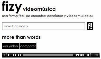 videos de musica fizy Videos musicales en Fizy