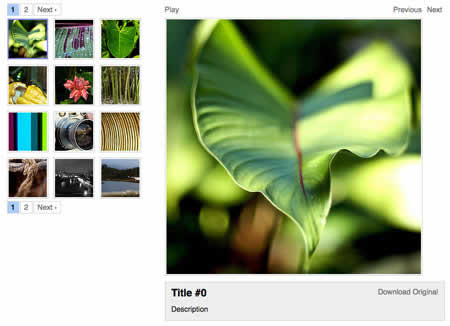 galeria imagenes gallerific Galerias de imagenes open source para diseñadores