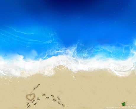 2 fondos playas Fondos de playa, 15 wallpapers para el verano